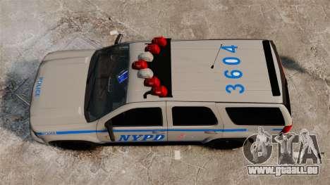 Chevrolet Tahoe 2007 NYPD [ELS] pour GTA 4 est un droit