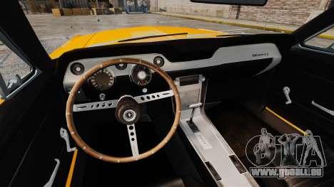 Ford Mustang 1967 Classic pour GTA 4 est un côté