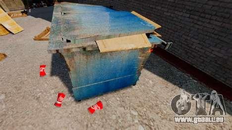 Faltige Bank Coca-Cola für GTA 4