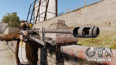Fusil sniper de Halo Reach SRS 99 pour GTA 4 troisième écran