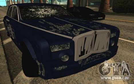 Rolls-Royce Phantom für GTA San Andreas Motor
