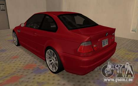 BMW M3 E46 2005 Body Damage für GTA San Andreas rechten Ansicht