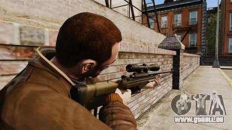 Fusil de précision Sako TRG-42 pour GTA 4 secondes d'écran