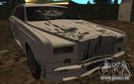 Rolls-Royce Phantom v2.0 pour GTA San Andreas vue de côté