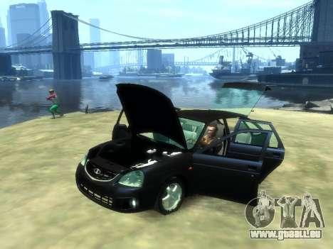 Lada Priora pour GTA 4 est un droit