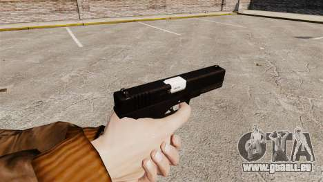 Glock 17 Ladewagen Pistol v2 für GTA 4 Sekunden Bildschirm