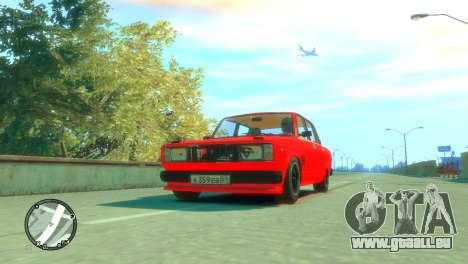 VAZ 2105 pour GTA 4 est un droit