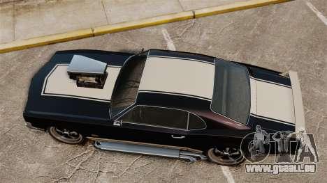 Sabre GT Muscle Version für GTA 4 rechte Ansicht