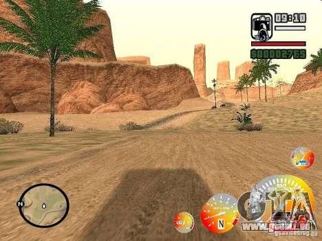 Conduire une 3.0 pour GTA San Andreas deuxième écran