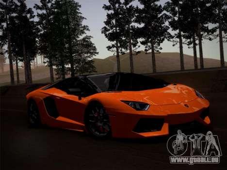 Lamborghini Aventador LP760-2 pour GTA San Andreas vue de côté
