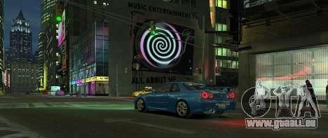 Nissan Skyline GTR-34 pour GTA 4 est un droit
