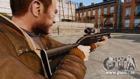 Fusil de chasse tactique v1 pour GTA 4 secondes d'écran