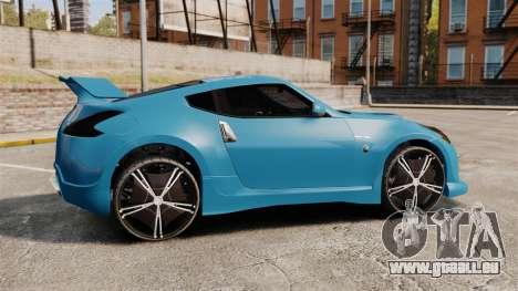 Nissan 370Z Tuning pour GTA 4 est une gauche