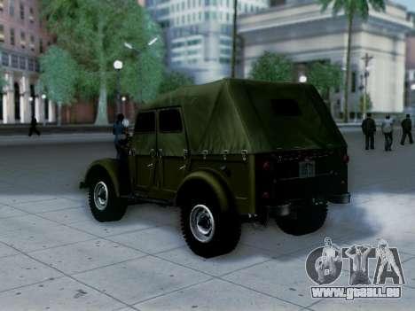 UAZ-69 A pour GTA San Andreas laissé vue