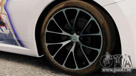 Maserati MC Stradale Infinite Stratos für GTA 4 Rückansicht