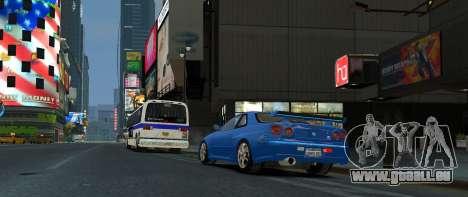 Nissan Skyline GTR-34 pour GTA 4 est une gauche