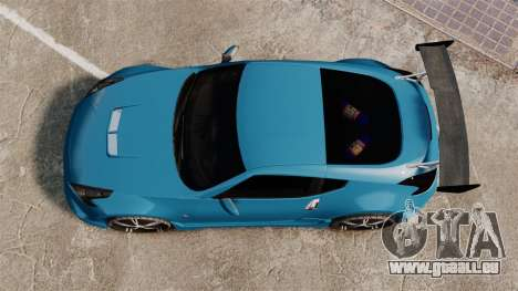 Nissan 370Z Tuning pour GTA 4 est un droit