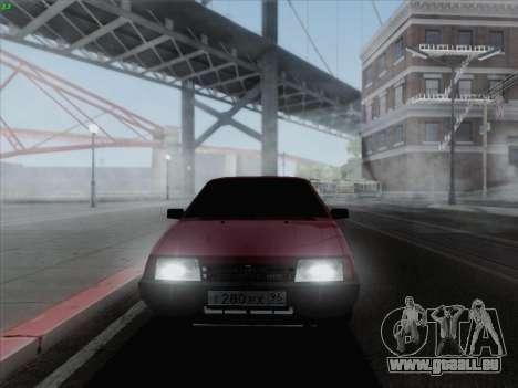 VAZ 21093i für GTA San Andreas linke Ansicht