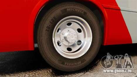 Mercedes-Benz Neobus Thunder LO-915 pour GTA 4 est une vue de l'intérieur