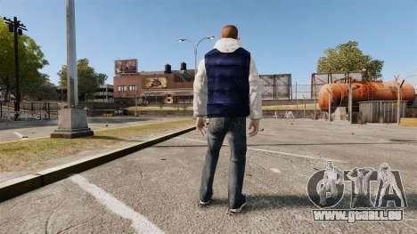 Habits neufs pour Hossan pour GTA 4 secondes d'écran