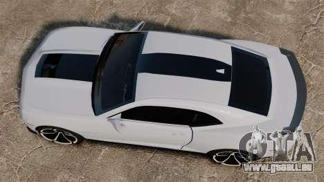 Chevrolet Camaro ZL1 2012 pour GTA 4 est un droit