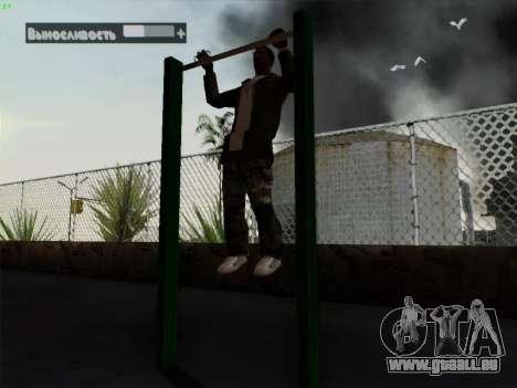 Barre fixe pour GTA San Andreas deuxième écran