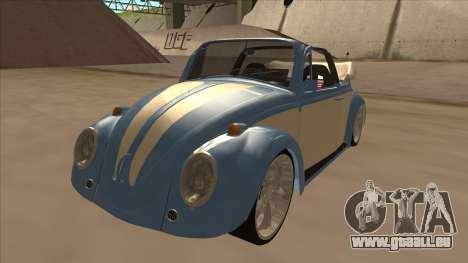 VW Beetle 1969 pour GTA San Andreas