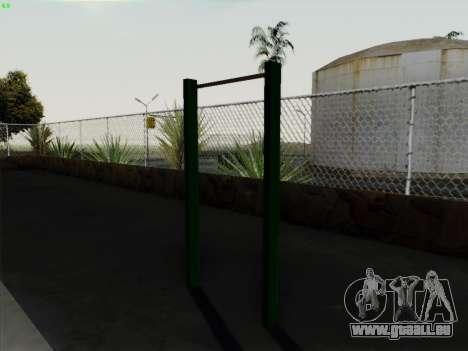 Barre fixe pour GTA San Andreas troisième écran