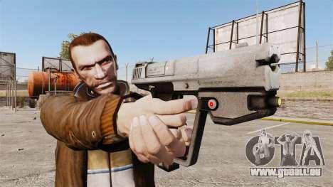M6G-Pistole Magnum-v2 für GTA 4 dritte Screenshot