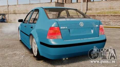 Volkswagen Bora pour GTA 4 Vue arrière de la gauche
