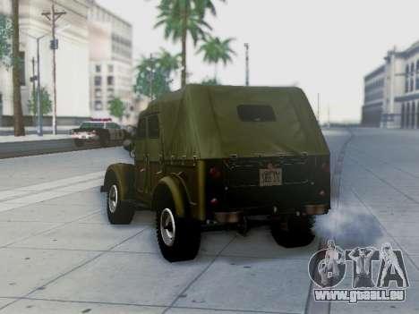 UAZ-69 A pour GTA San Andreas moteur