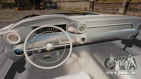 Cadillac Eldorado 1959 v2 für GTA 4 Rückansicht
