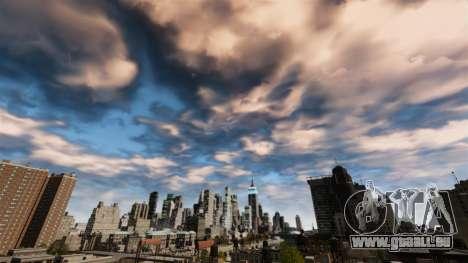Nouveau ciel jour et nuit pour GTA 4