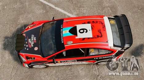 Ford Focus RS Munchis WRC pour GTA 4 est un droit