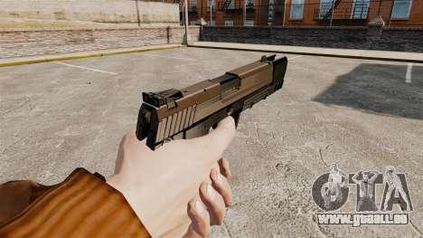 Ladewagen Pistole USP H & K v2 für GTA 4 Sekunden Bildschirm