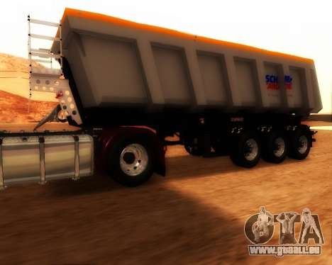 Remorque Schmitz Cargo Bull pour GTA San Andreas