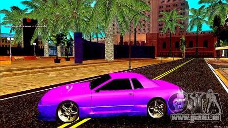 Elegy Drift Silvia pour GTA San Andreas vue de droite