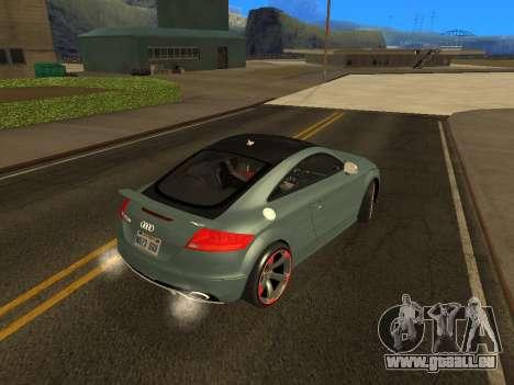 Audi TT RS Plus 2013 für GTA San Andreas linke Ansicht