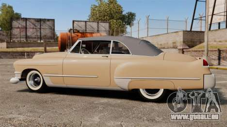 Cadillac Series 62 convertible 1949 [EPM] v4 für GTA 4 linke Ansicht
