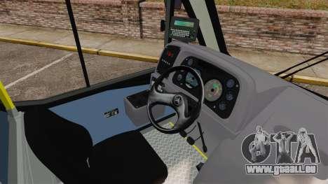 Mercedes-Benz Neobus Thunder LO-915 pour GTA 4 est une vue de dessous