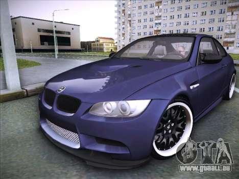 BMW M3 E92 Hamann 2012 pour GTA San Andreas