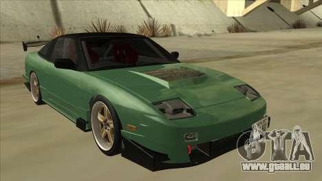 Nissan 180SX Uras GT pour GTA San Andreas laissé vue