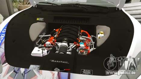 Maserati MC Stradale Infinite Stratos für GTA 4 Seitenansicht
