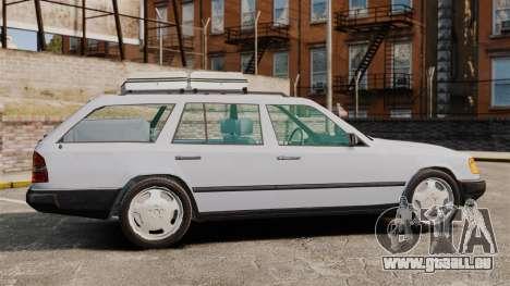 Mercedes-Benz W124 Wagon (S124) pour GTA 4 est une gauche