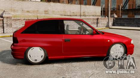 Opel Astra GSi 1993 für GTA 4 linke Ansicht