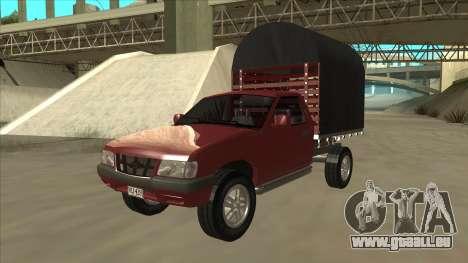 Chevrolet Luv 2.500 diesel pour GTA San Andreas