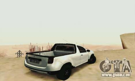 Dacia Duster Pick-up für GTA San Andreas linke Ansicht
