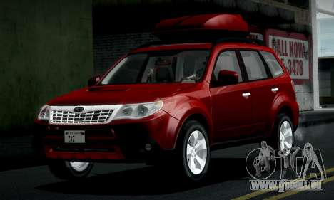 Subaru Forester XT 2008 v2.0 pour GTA San Andreas vue intérieure