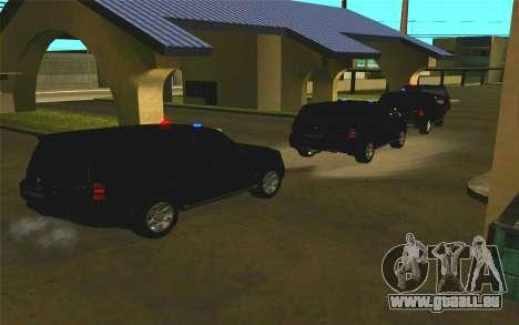 Mitsubishi Pajero pour GTA San Andreas vue intérieure