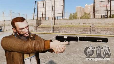 Chargement automatique v1 de pistolet Glock 17 pour GTA 4